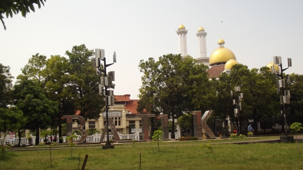 landmark_batik di Kawasan Budaya Jetayu Kota Pekalongan